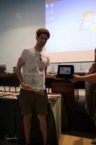 Biagio Panzani riceve il secondo premio